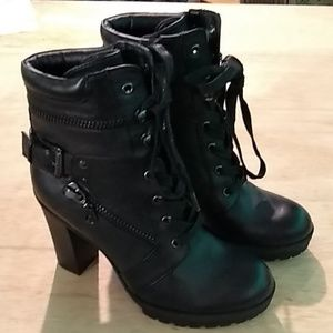 G by Guess heeled ankle boots